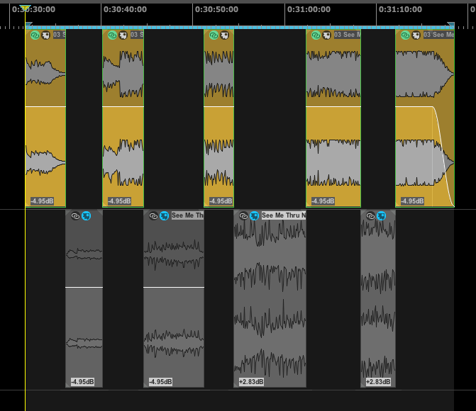 "Screenshot of mastering screen for Madame Gahndi's ""See Me Thru"""